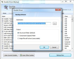 Double Driver save option