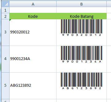 barcode result