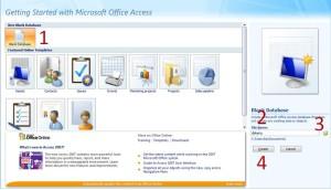 create db access