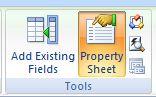property sheet access