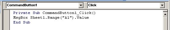 get value in cell excel