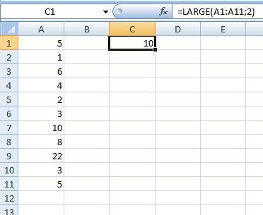 fungsi large sample