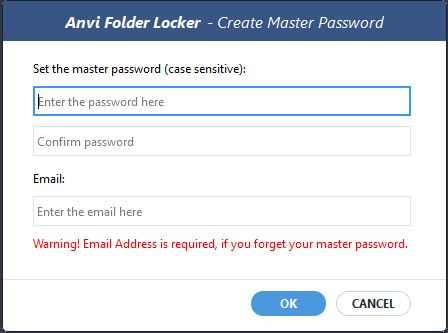 master password anvi folder lock
