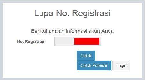 hasil nomor registrasi pupns 2015