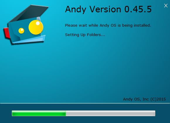 Andy OS installer 2