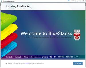 install bluestack  1