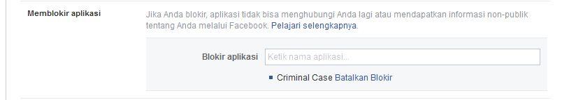 criminal case blokir