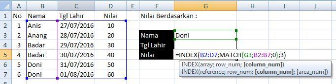 index match excel2