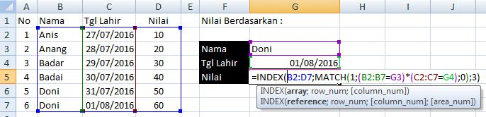 index match excel3